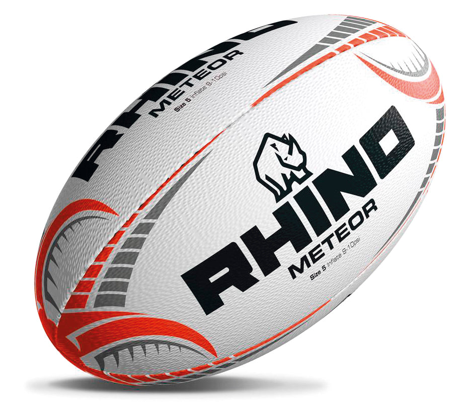 Rhino Meteor Match Rugby Ball