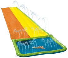 Load image into Gallery viewer, Wham-o 16ft Slip 'N Slide Double Wave Rider Water Slide