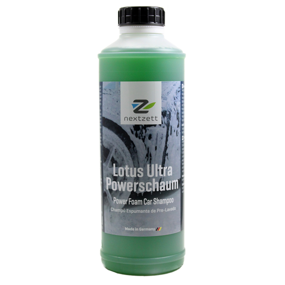 nextzett Lotus Ultra Power Foam Car Wash Shampoo