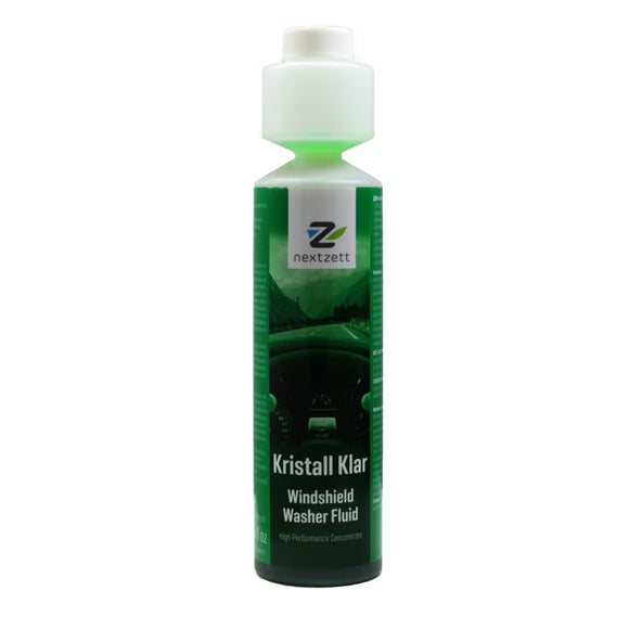 nextzett Kristall Klar Premium Washer Fluid Concentrate - 8.5 oz (250 ml)