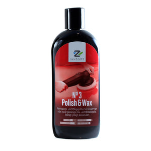 nextzett No. 3 Polish & Wax - 250 ml (8.5 oz)