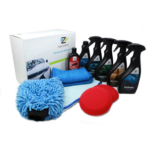 nextzett Ultimate Car Detailing Kit (12-piece)