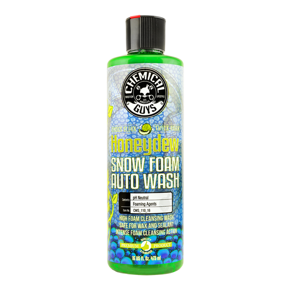 Chemical Guys Honeydew Snow Foam Auto Wash Shampoo