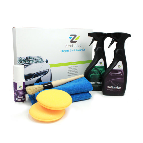 nextzett Ultimate Car Interior Kit (8-piece)