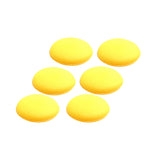 Yellow foam applicator pad 6 pack