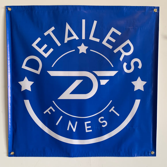 Detailers Finest Banner wall