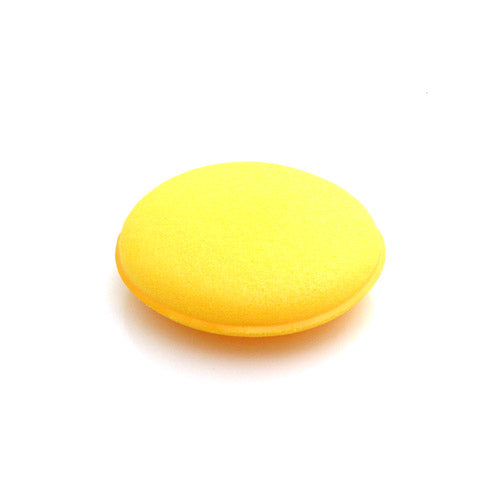 Yellow Foam Wax & Polish Applicator (Single)