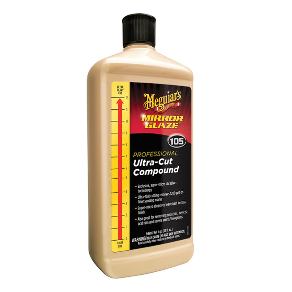 Meguiar's Ultra Cut Compound M105 32 oz size