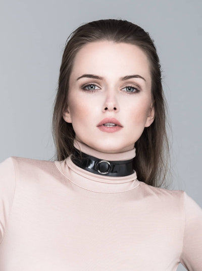 Alice Choker Black Silver