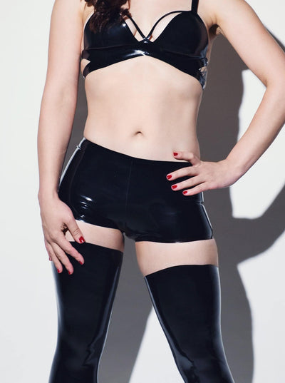 Strict Boyshorts Latex Panty