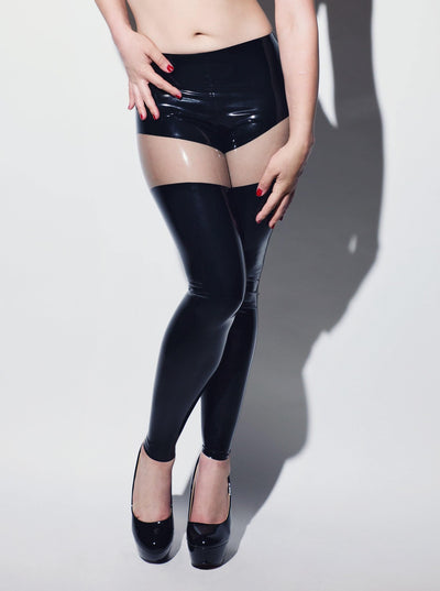 Hot Latex Leggings Women