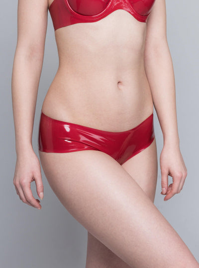 Red Latex Panty