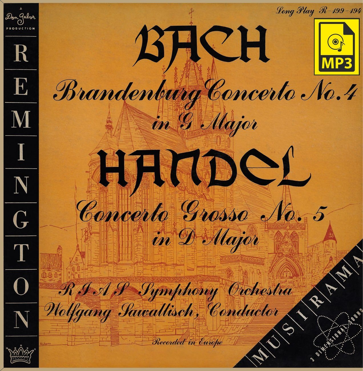 Sawallisch: Brandenburg Concerto No. 4 - Remington R-199-194 (mp3)