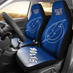 TAMPA BAY LIGHTNING CAR SEAT COVER (SET OF 2) (4360133050467)