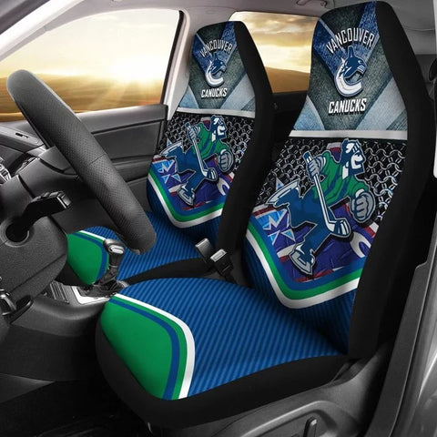 VANCOUVER CANUCKS CAR SEAT COVER (SET OF 2) (4360106344547)