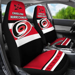 CAROLINA HURRICANES CAR SEAT COVER (SET OF 2) (4360032485475)