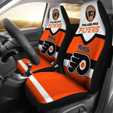PHILADELPHIA FLYERS CAR SEAT COVER (SET OF 2) (4360033337443)