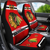 CHICAGO BLACKHAWKS CAR SEAT COVER (SET OF 2) (4359986085987)