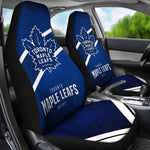 TORONTO MAPLES LEAFS CAR SEAT COVER (SET OF 2) (4359971504227)