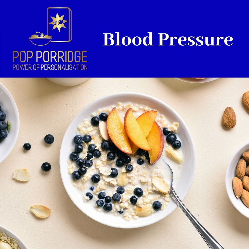 POP Porridge - Blood Pressure - Sachets - 175g - POP Porridge