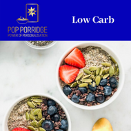 POP Porridge  - Low Carb - Sachets - 175g - POP Porridge