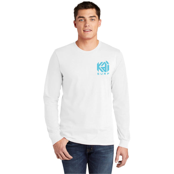Kai Surf Long Sleeve Tee-White