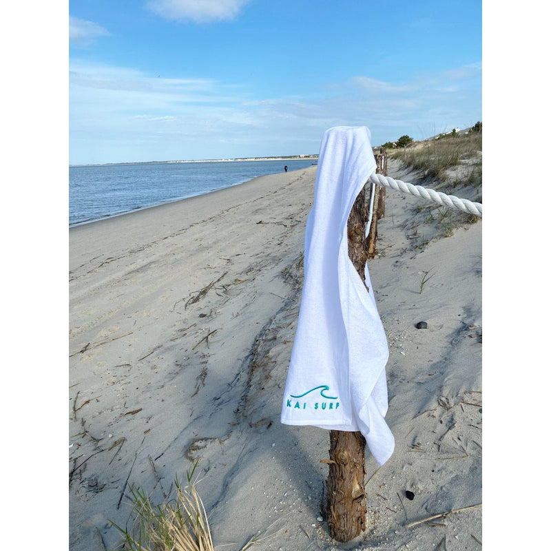 Beach Towel-Turquoise or White