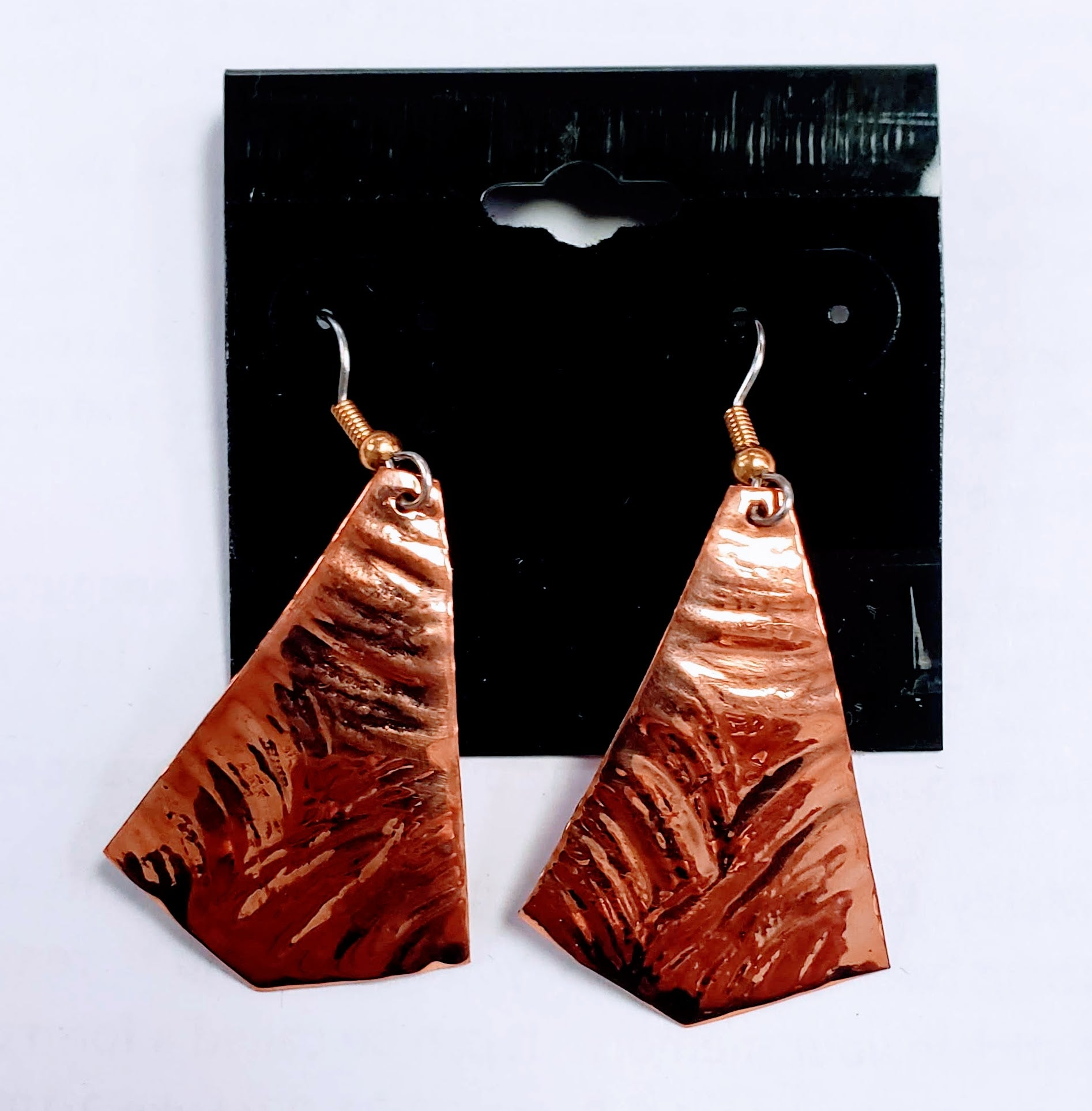 Bronze Handcrafted Earrings
