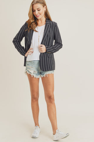 D&R Striped Blazer