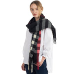 Plaid Wrap Scarf (3 Colors)