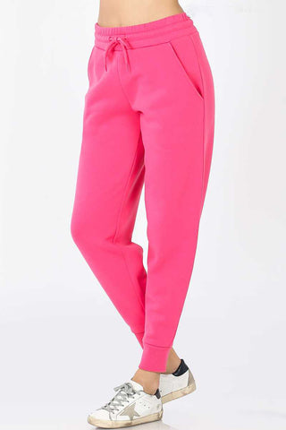 Cute-N-Comfy Sweatpants - Fuschia