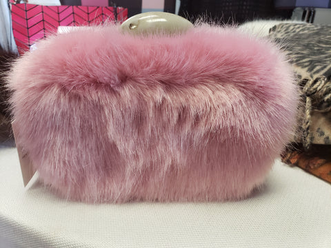 Fur Clutch Bag (2 colors)