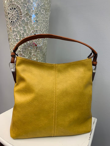Soft Simple Mustard Bag