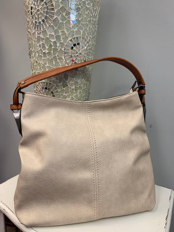 Soft Simple Beige Bag