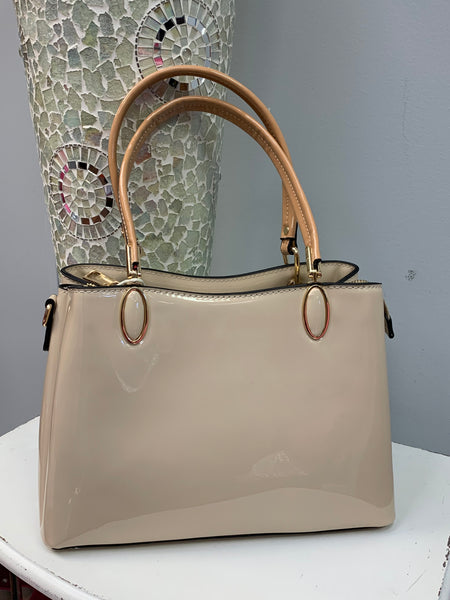 Pretty Patent Bag (2 colors)