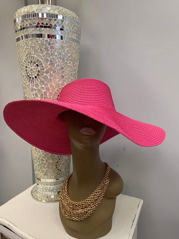 Solid Color Floppy Hat (5 colors)