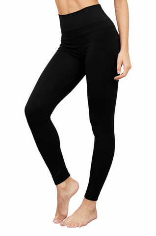 "Bamboo 3"" High Band Leggings"