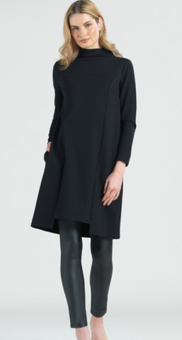 Clara Sunwoo Funnel Neck Tunic Dress