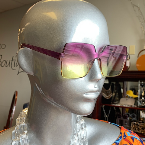 Grape Lime Sunglasses