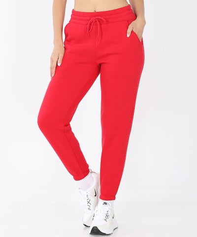 Cute-N-Comfy Sweatpants - Ruby