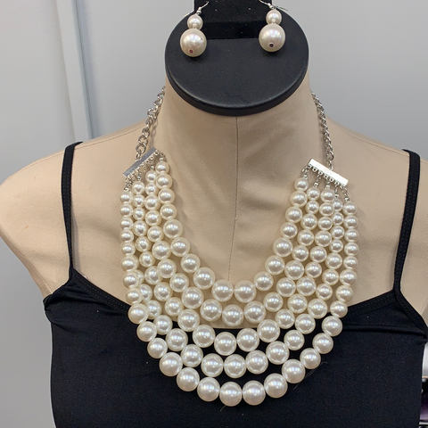 White Regal Pearl Set