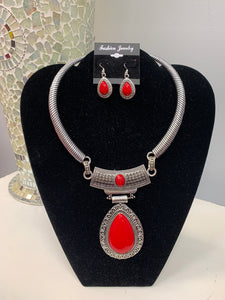 Red and Silver Set
