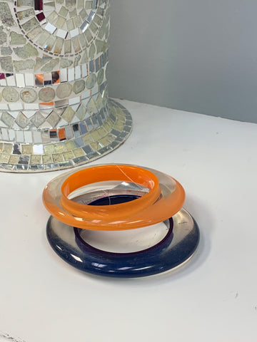 Colorful Clear Bangles (2 colors)