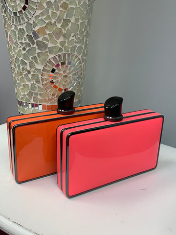 Neon Lipstick Clutch (2 Colors)