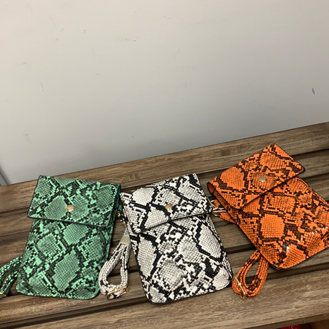 Wildly Slim Crossbody (3 Colors)