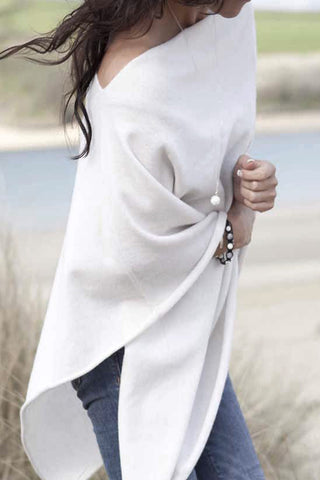 Soft Pullover Wrap (Multiple Colors)