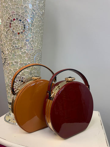 Round Patent Purse (2 Colors)