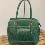 Gorgeous Green Snake Bag