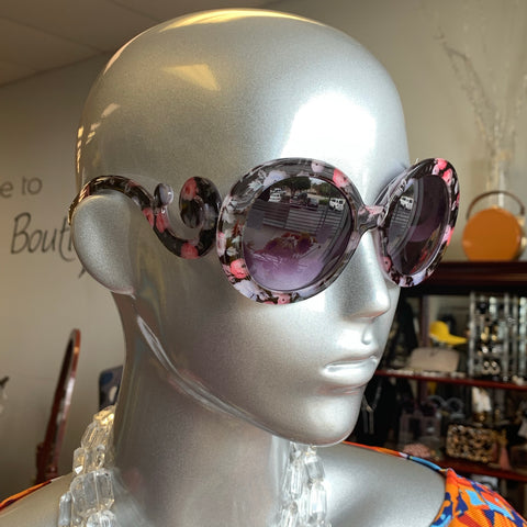 Flower Swirl Sunglasses