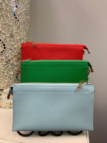 Crossbody Wristlet (3 colors)
